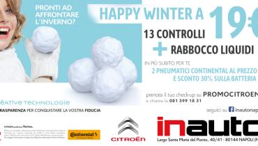Citroen Happy Winter Campaign